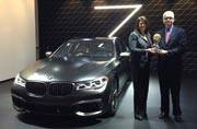 BMW 7 Series bags the 2016 World Luxury Car award at NYIAS