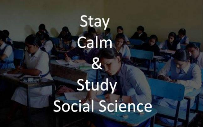 CBSE Class 10 Social Science Exam