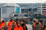 Explosions at Zaventem airport near Brussels