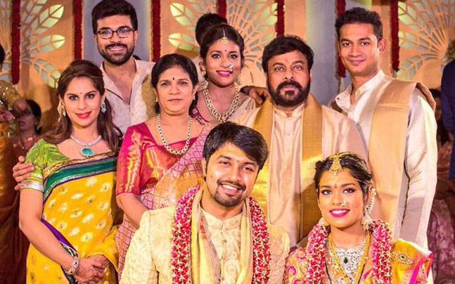 SEE PICS: Chiranjeevi's daughter Srija ties the knot with NRI