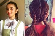 From braided alphabets to scrunched-up braids, Alia Bhatt's hair clearly belongs to the runway
