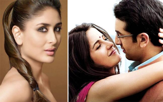(L-R) Kareena, Katrina and Ranbir