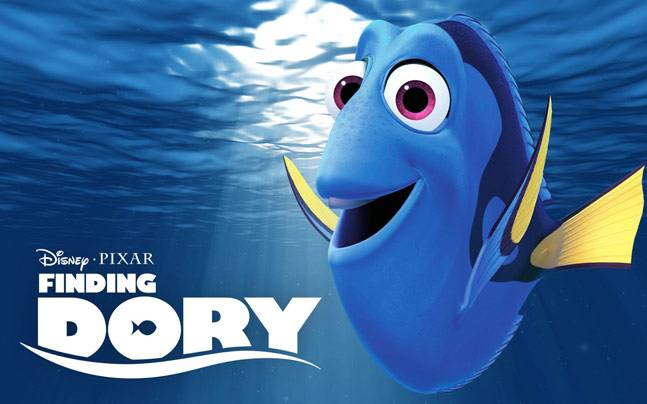 A poster of Finding Dory