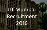 IIT Bombay Recruitment 2016: Apply for JE, RA, PDF and other vacancies