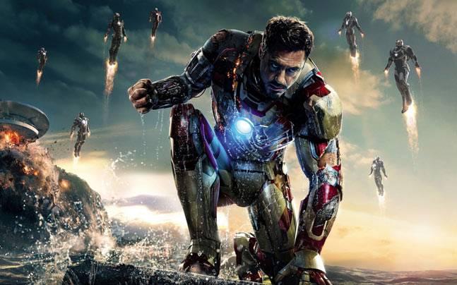 Robert Downey Jr in a still from Iron Man 3