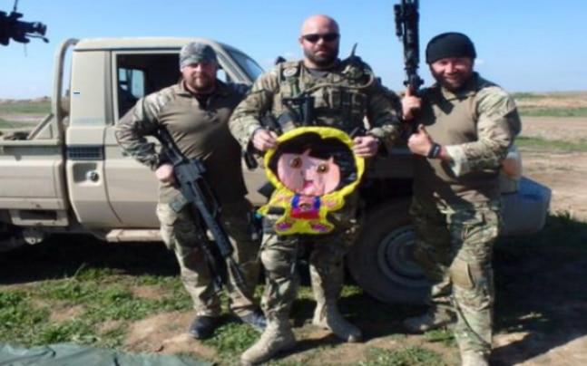 Terrorist Spy Photo >> Desperate Isis Terrorist Use Dora The Explorer Balloons To Spy On