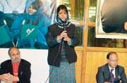 J&K gears up for its first woman CM Mehbooba Mufti