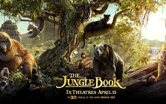 A poster from The Jungle Book