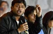 Kanhaiya Kumar slapped inside JNU by an outsider