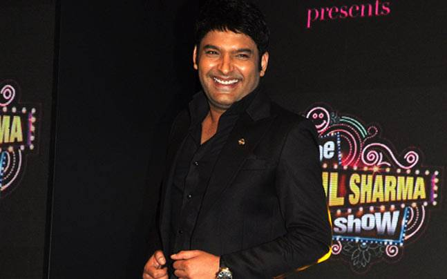 Kapil Sharma at the launch of The Kapil Sharma Show. Picture courtesy: Yogen Shah