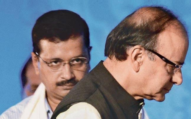 Arun Jaitley and Arvind Kejriwal