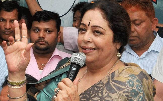 BJP MP Kirron Kher
