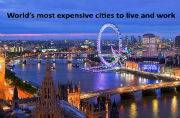 London named world's most expensive city: List of top 20 most expensive cities to live and work in