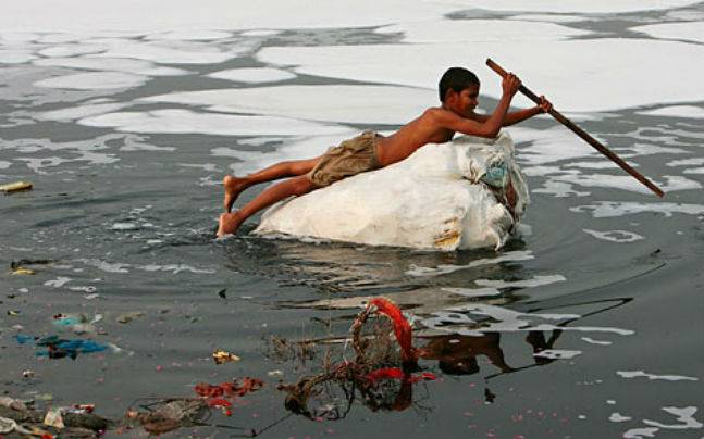 Alarming pollution levels of Yamuna river