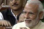 Modi tutors Rahul on past Gandhis; quotes Nehru, Indira and Rajiv in Lok Sabha