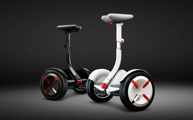 How do you ride Xiaomi's Ninebot? Just like you ride a horse