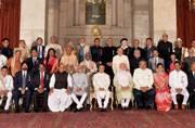 Dhirubhai Ambani, Anupam Kher, Saina Nehwal honoured with Padma awards