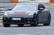 2017 Porsche Panamera spied with no camouflage