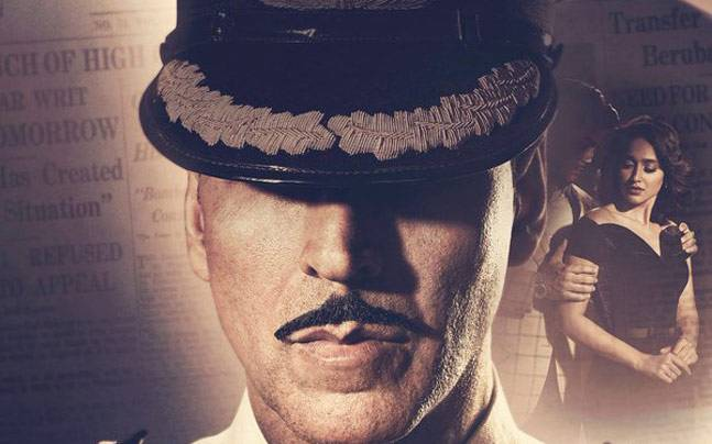 The first poster of Rustom