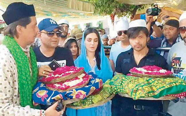 Himesh and Farah in Ajmer