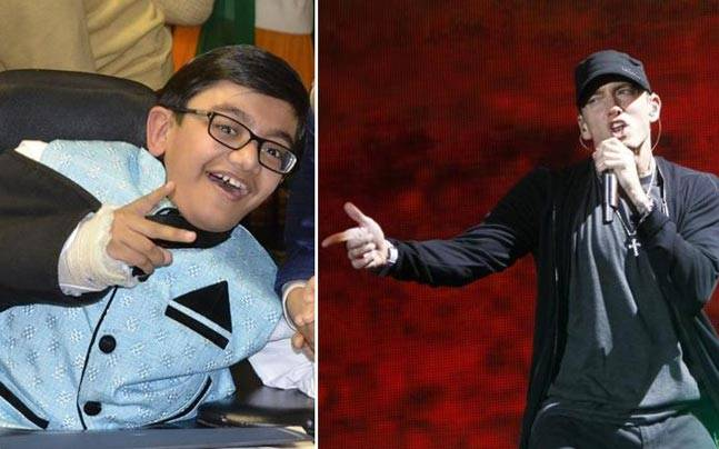 Meet sparsh shah the kid who rocked eminems not afraid from his sparsh shah eminem m4hsunfo