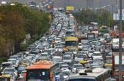 Sri Sri's World Culture Festival and rain choke Delhi roads