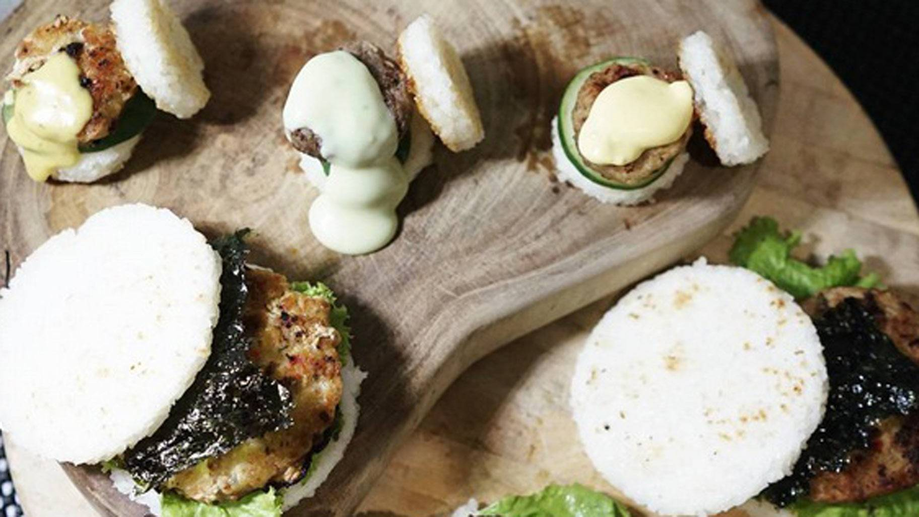 Sushi burgers are the new food fad to fall in love with