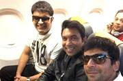 The Kapil Sharma Show's journey begins: Sunil Grover shares pic en route to Amritsar