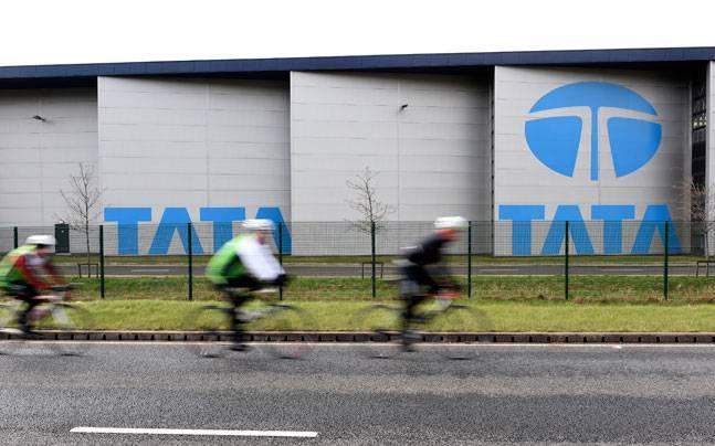Tata steelworks in Port Talbot, Wales