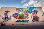 THIS is India's first public art district, and it's in New Delhi