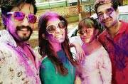 Colours, mithais and masti: TV celebs celebrate Holi with full fervour