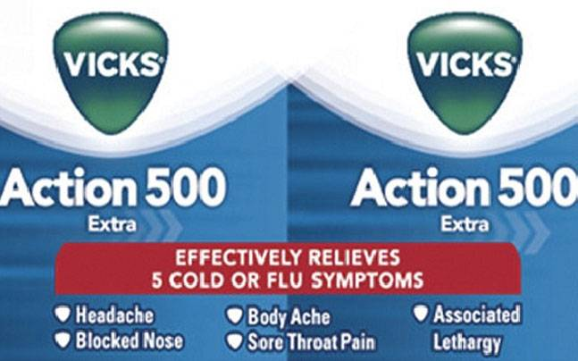 Updated: P&G stops selling Vicks Action 500 Extra in India