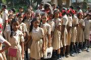Free education to girls studying in government schools