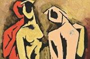 Artworks by stalwarts of India's Modernist movement are on sale in the Capital this weekend