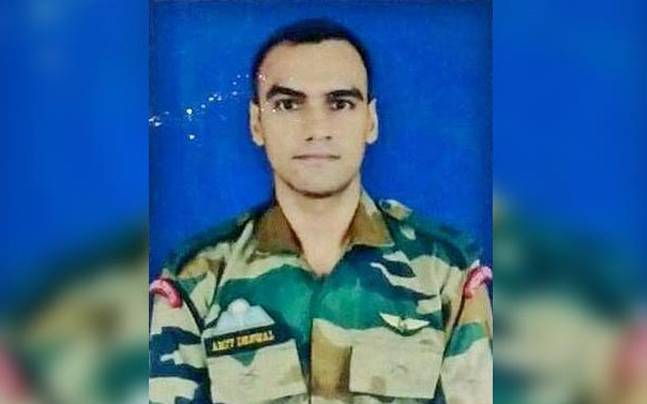 Major Amit Deswal