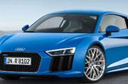 Audi R8 coupe wins 2016 World Performance car award at NYIAS 2016