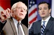 Bernie Sanders, Ted Cruz shock front-runners ahead of crucial NY primary