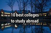 Looking for universities abroad? Check out these 10 top colleges