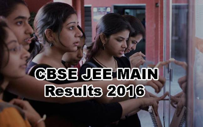 CBSE JEE Main 2016: Results declared at http://jeemain.nic.in