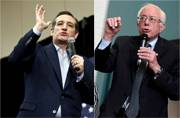 US presidential election: Ted Cruz, Bernie Sanders score key victories in Wisconsin