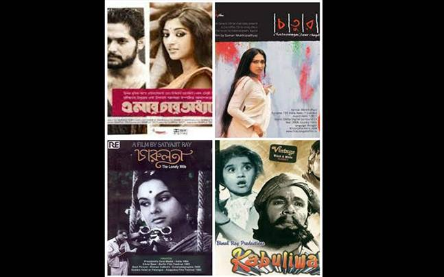 Movies on Tagore's works