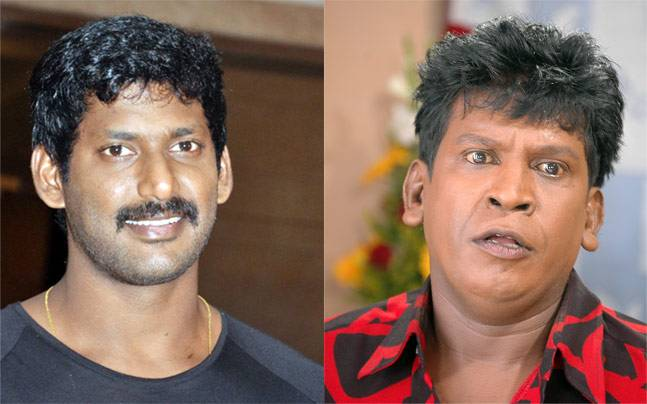 Vadivelu to join hands with Vishal