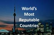 World's 7 Most Reputable Countries: Checkout the list here