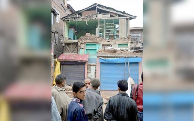 Srinagar earthquake