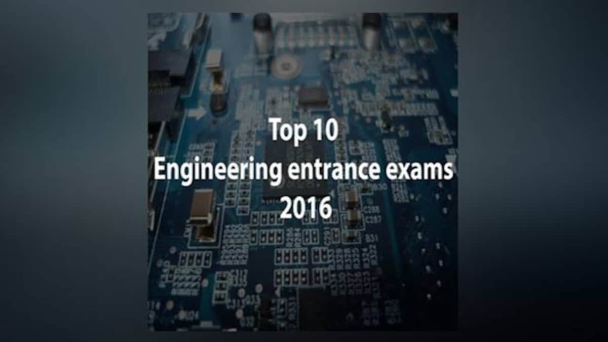 Top 10 Engineering entrance examinations in India: Check out the