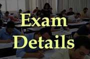 Tamil Nadu Common Entrance Test 2016: Examination details