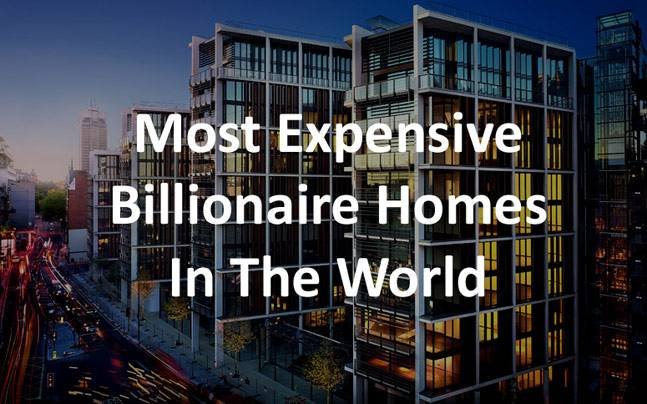 Forbes 10 Most Expensive Billionaire Homes In The World: Mukesh ...