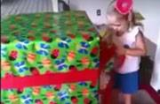 This video of a little girl being surprised by her soldier dad is beyond precious