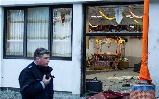 Germany gurudwara explosion