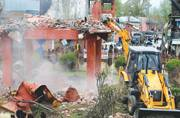 Army bunkers bulldozed in strife-hit Kashmir Valley